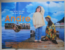 Andre, Original UK Quad Poster, Tina Majorino, Keith Carradine, '94